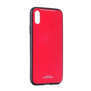 Etui Glass Case do Samsung Galaxy A20e czerwone