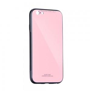 Etui Glass Case do Samsung Galaxy A20e różowe