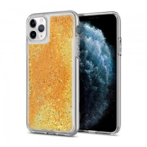 Etui Vennus Liquid Glitter do Samsung Galaxy J6 Plus złote