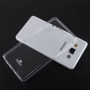 Etui Jelly Mercury do Huawei P40 Lite transparentne