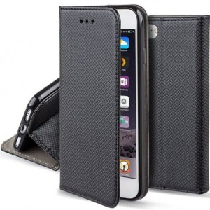 Etui Magnet Book do Motorola G9 Play / E7 Plus czarne