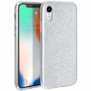 Etui Shining Case do Huawei P40 Lite srebrne