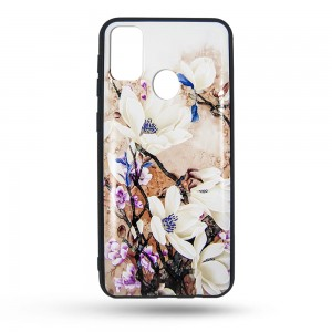 Etui Painted Garden White Magnolia do Samsung Galaxy A71 białe