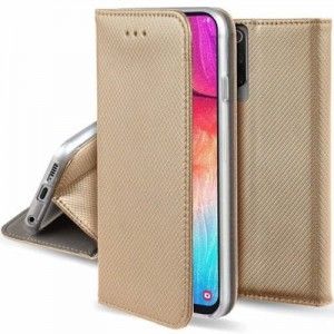 Etui Magnet Book do LG K40 złote
