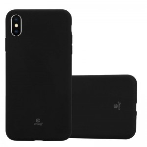 Crong Soft Skin Cover - Etui iPhone Xs Max (czarny)