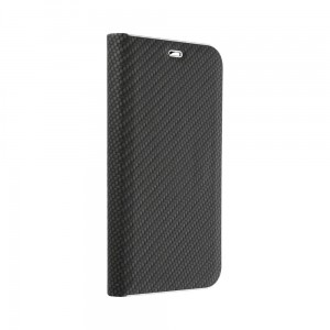 Etui Luna Carbon Book do Samsung Galaxy Note 20 czarne