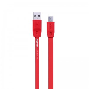 Kabel Remax Full Speed Micro USB 1m czerwony