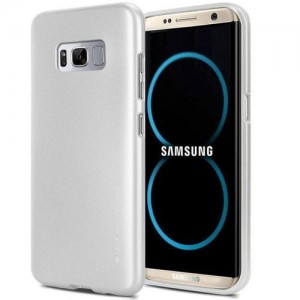 Etui iJelly Mercury do Samsung Galaxy A20e srebrne