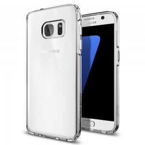 Etui Spigen Ultra Hybrid do Samsung Galaxy S7 Edge transparentne